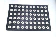 60 unids cuero de LA PU de 18mm de Metal Botón A Presión jengibre tablilla de anuncios NE449 relojes mujeres de one direction Unisex de la joyería DIY