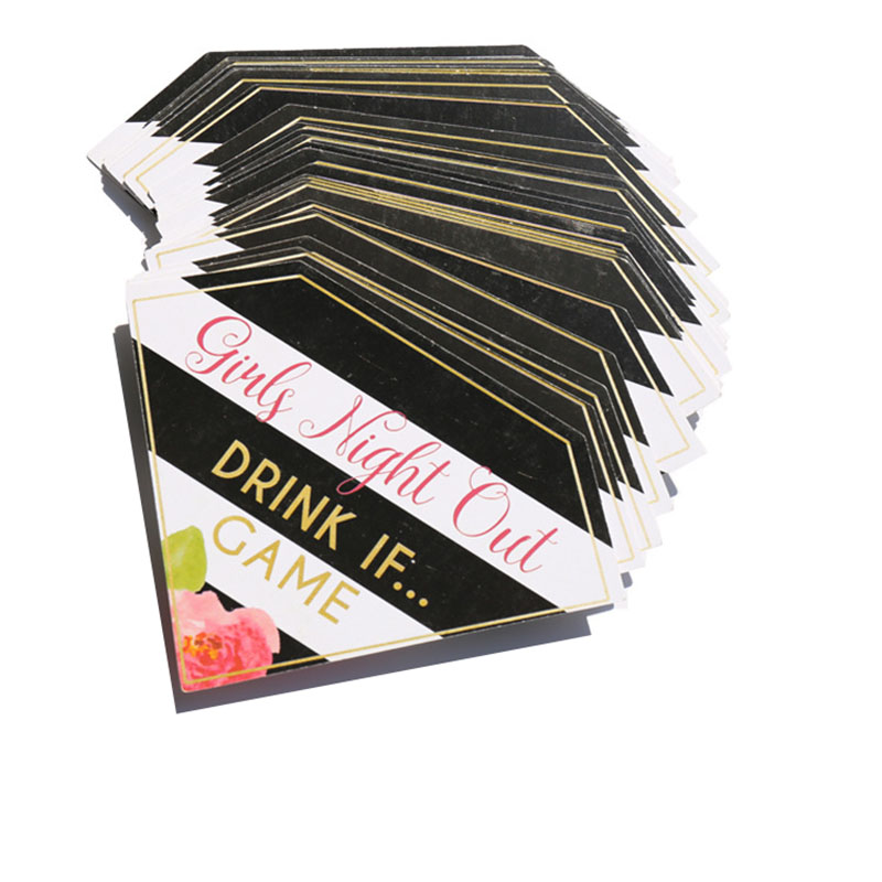 Bachelorette Party Hen Party Girls Night Out Game Cards Drinking Dare Cards Wedding Team Bride To Be Party Decoration Favor Gift(China)