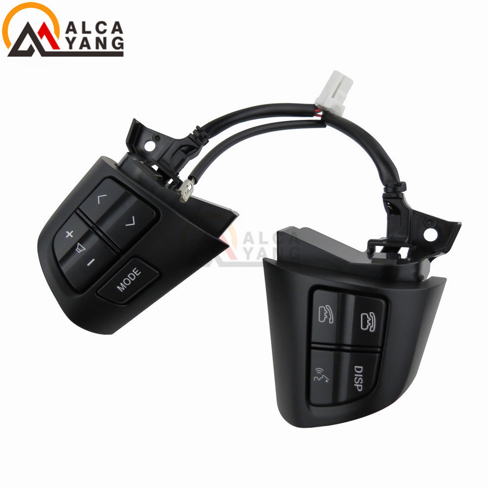 Image 5 - For TOYOTA COROLLA ADE150 NDE150 NRE150 ZRE15* ZZE150 2007 2013 Steering Wheel Audio Control Button-in Car Switches & Relays from Automobiles & Motorcycles
