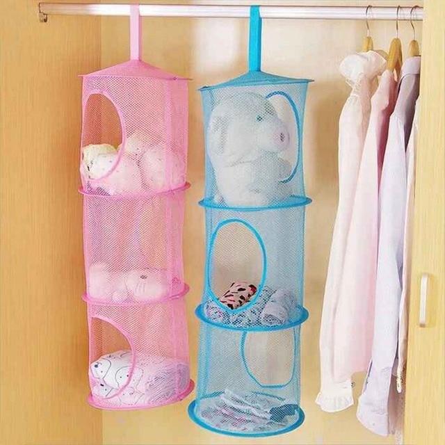 Baby Bed Hanging Storage Bag Crib Organizer Toy Diaper Pocket for Newborn Crib Bedding Set Accessories | Happy Baby Mama