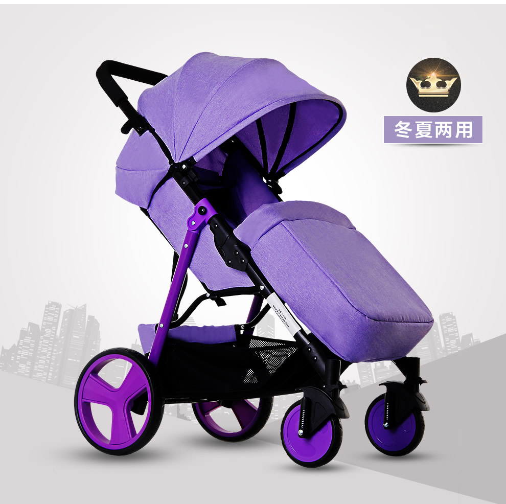 Baby stroller light folding portable dual-use fashion newborn baby child trolley m rondeau a newborn child