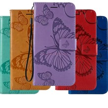 Wallet Case On For HUAWEI Honor 4C Pro TIT-L01 16GB Book Flip Cases For HUAWEI Honor4C Pro Dual SIM butterfly Leather Cover(China)