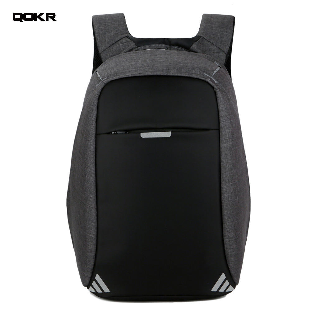 Men USB Charging 15.6 inch Laptop Backpacks For Teenager Fashion Male Mochila Leisure Wa ...