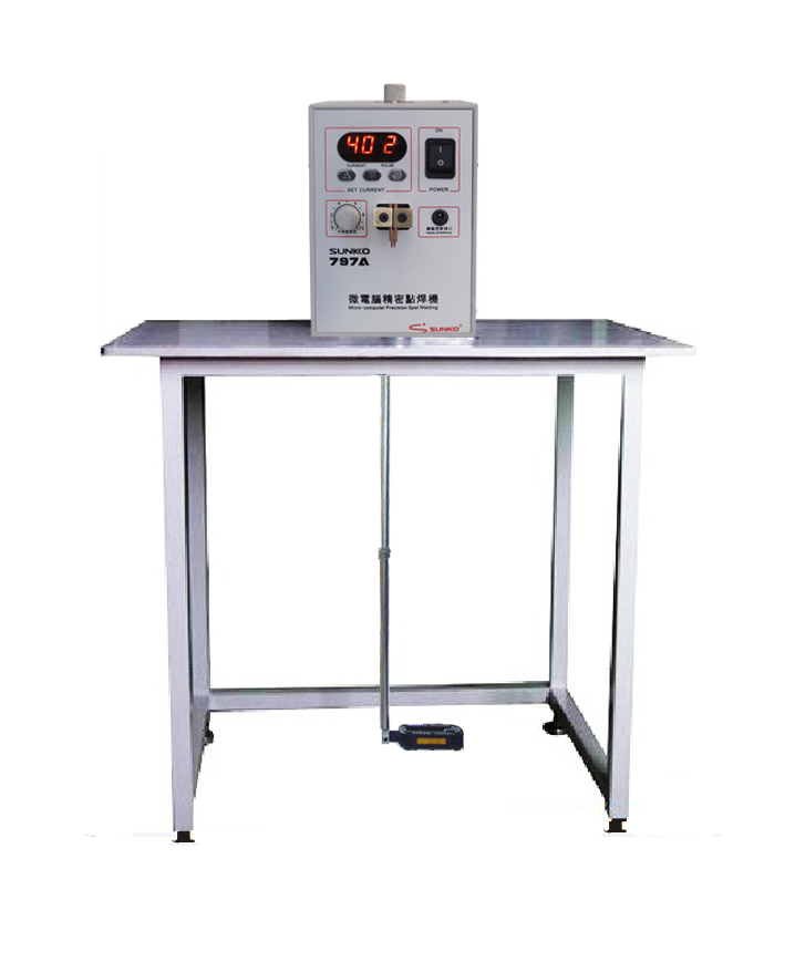 SUNKKO 797A Spot Welder 18650 lithium and NiMh battery test and charge foot pedal control touch