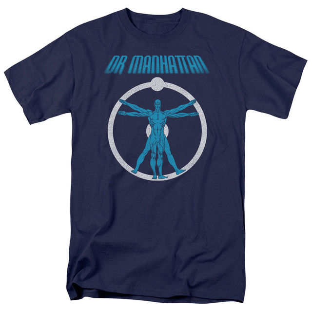 Wächter Dr. Manhattan ANATOMIE Lizenzierte Erwachsene T Shirt männer ...