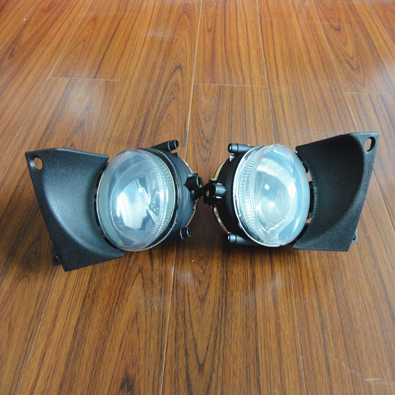 1 Pair Left & Right Front Fog Light Lamps without Bulbs Replacement For BMW 5Series E39 2001-2003 front left