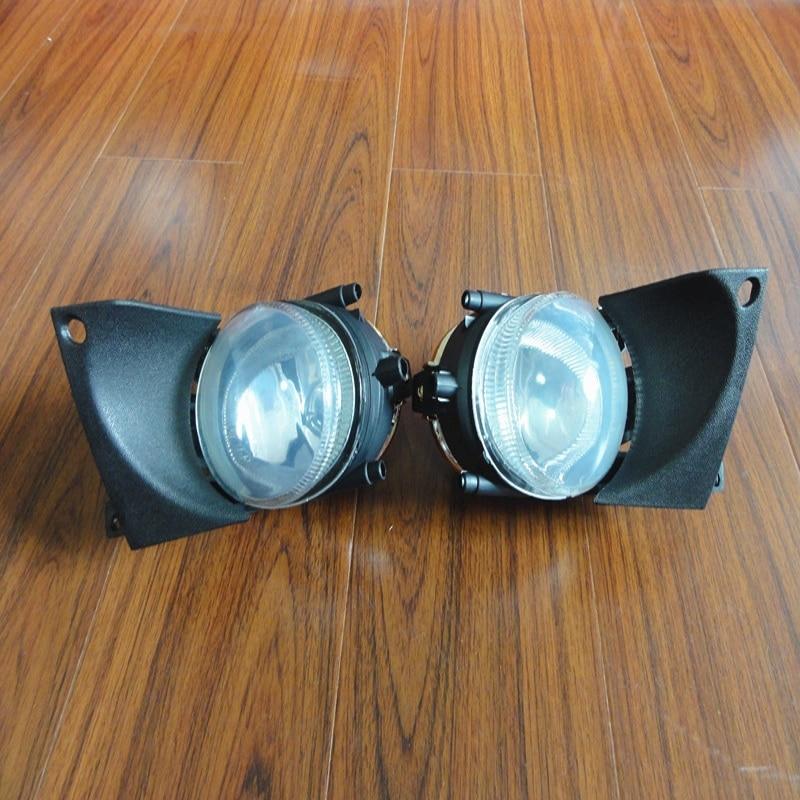 1 пара левый и правый передний противотуманный свет лампы без замены лампы для BMW 5Series Е39 2001-2003
