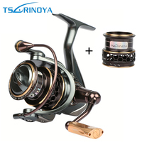Tsurinoya Jaguar Spinning Fishing Reels 9BB 5 2 1 Double Metal Spool Left Right Hand Sea