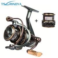 Tsurinoya Jaguar Spinning Fishing Reels 9BB 5 2 1 Double Metal Spool Left Right Hand Sea