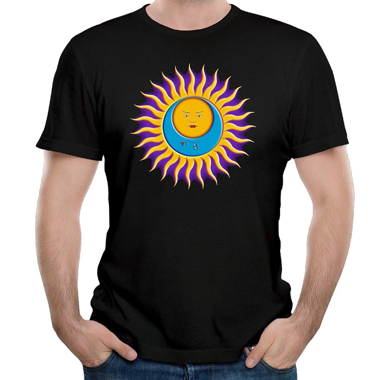Gildan New Fashion Mens T-Shirts Short Sleeves New Fashion T-Shirt Men King Crimson T Shirts Funny 100% Cool Shirt ...