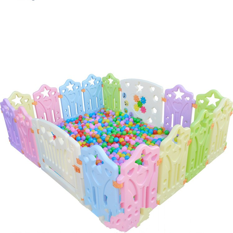 square kids plastic fence baby game fence playpen crawling baby guardrail fence quality baby fence child fence baby safety guardrail creepiness toddler fence crib game house toy playpen colorful girl boy