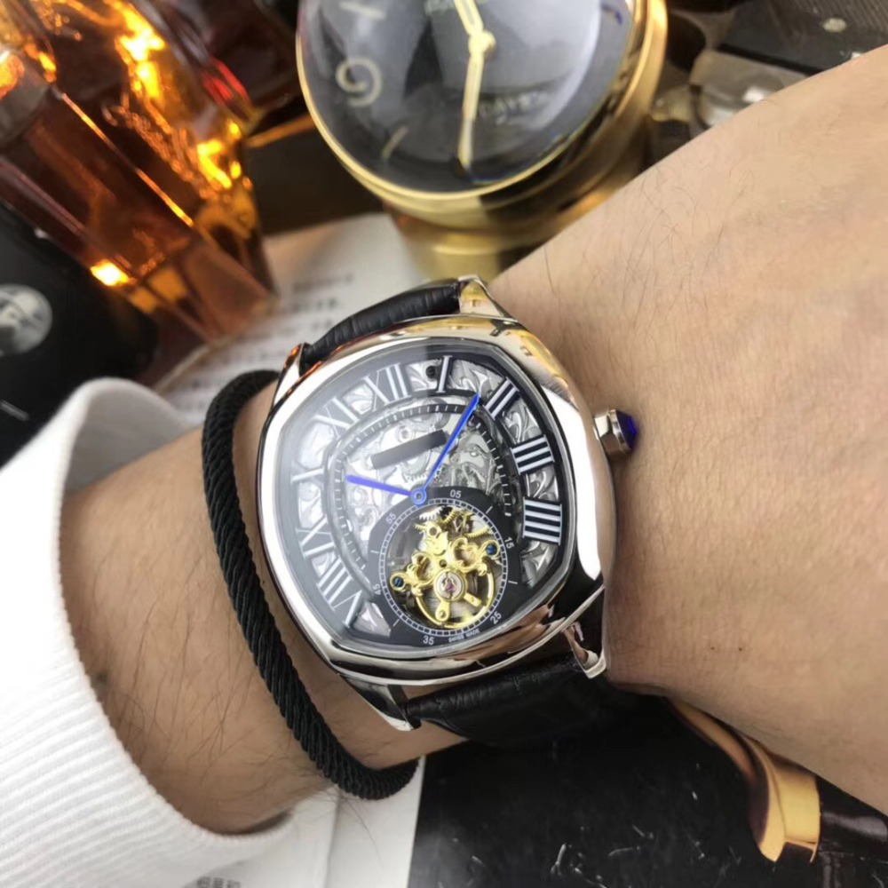 лучшая цена Mens Watches Top Brand Runway Luxury European Design Automatic Mechanical Watch S0725