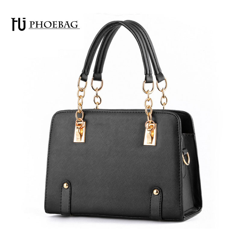 HJPHOEBAG Fashion Charm of women bags shoulder bag temperament lady pure color Crossbody Bags Hepburn and Monroe printing Z-80 lady of magick
