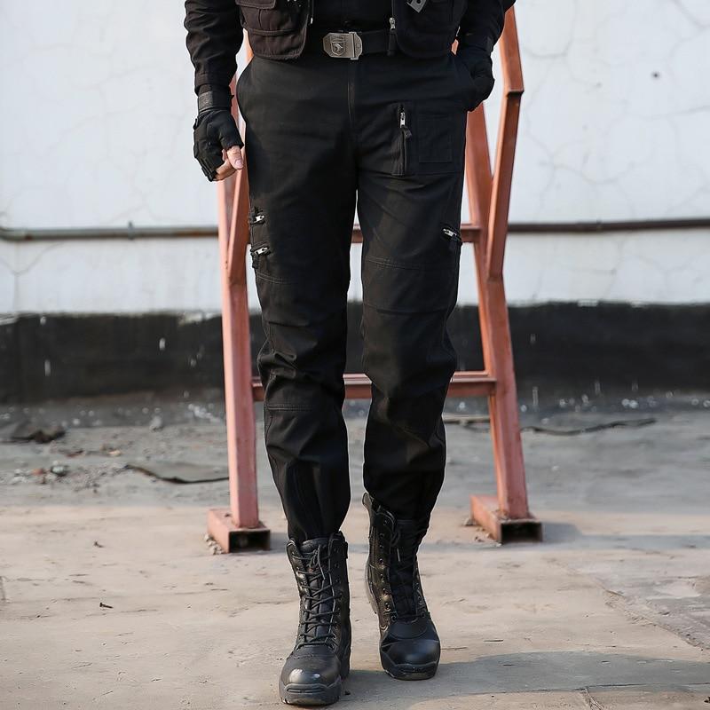 Mężczyźni Tactical Cargo Pants 101 W Powietrzu Wojskowe Armii Spodnie SWAT  Walki Wielu Kieszeni Paintball męska 734d4a8ae9