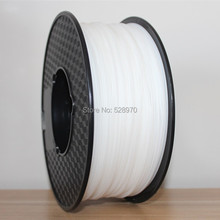FREE SHIPPING 1kg 2.2lb 1.75mm White HIPS Filament for 3D Printer/3D Printing Material/FDM 3D Printing Filament 3d printer