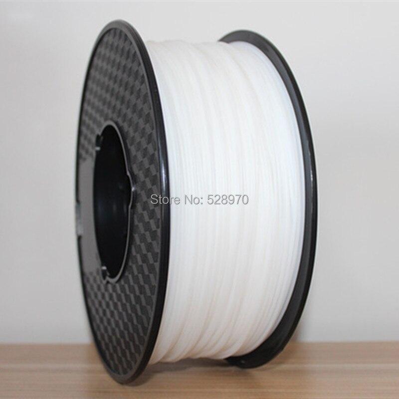 Prix pour LIVRAISON GRATUITE 1 kg 2.2lb 1.75mm Blanc HIPS Filament pour Imprimante 3D/3D Impression Matériel/FDM 3D impression Filament 3d imprimante