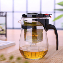 Teapot Puer Glass Kettle-Pot Infuser Coffee Brew Heat-Resistant For Tea with Teaware-Accessories
