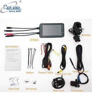 Image 2 - Relee 오토바이 전자 dvr 대시 캠 1080 p 방수 오토바이 카메라 gps dvr 모터 보안 와이파이 카메라 블랙 박스 dvr