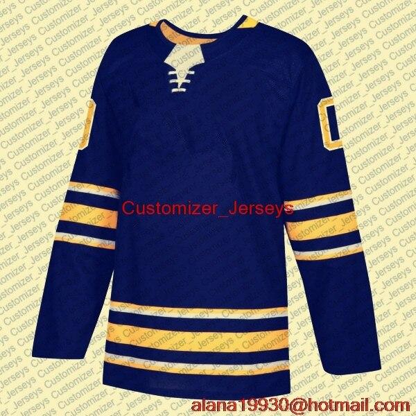 huge discount 21359 23003 US $35.99 |Rasmus Dahlin Jeff Skinner Jack Eichel Sam Reinhart Kyle Okposo  Robin Lehner Ristolainen Buffalo Hockey Jersey Men Women Youth-in ...