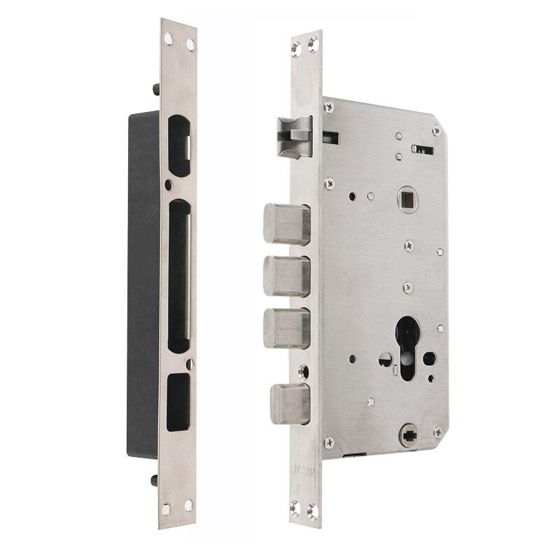 RAYKUBE электронный дверной замок с отпечатком пальца домашний Противоугонный замок проверка отпечатков пальцев интеллектуальный замок с пар... - 4