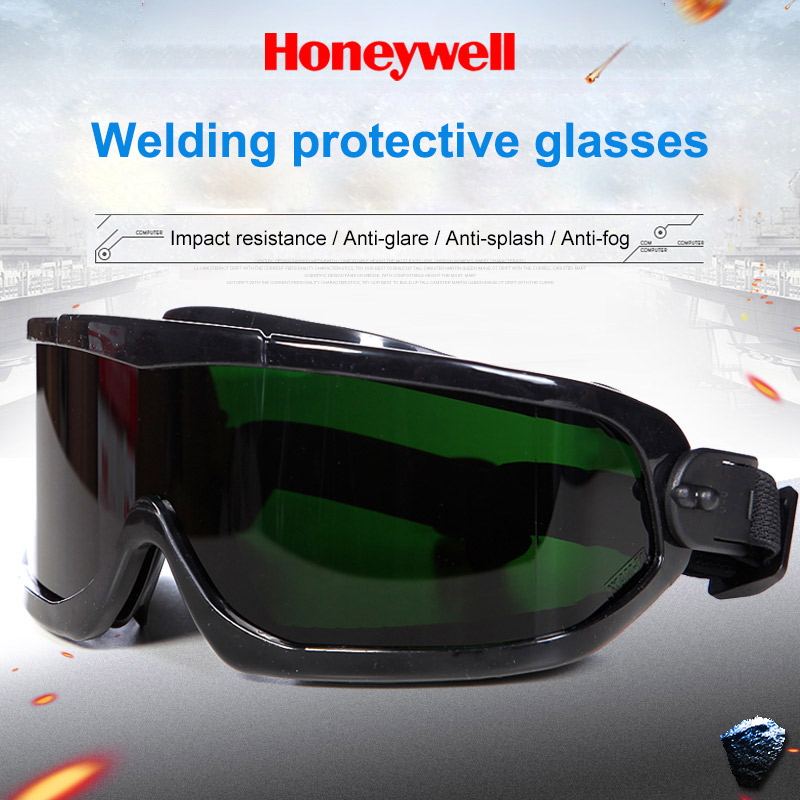 Honeywell Welding Goggles Argon Arc Welders Protective Glasses Labor Insurance Anti-splash Anti-glare Safety Goggles
