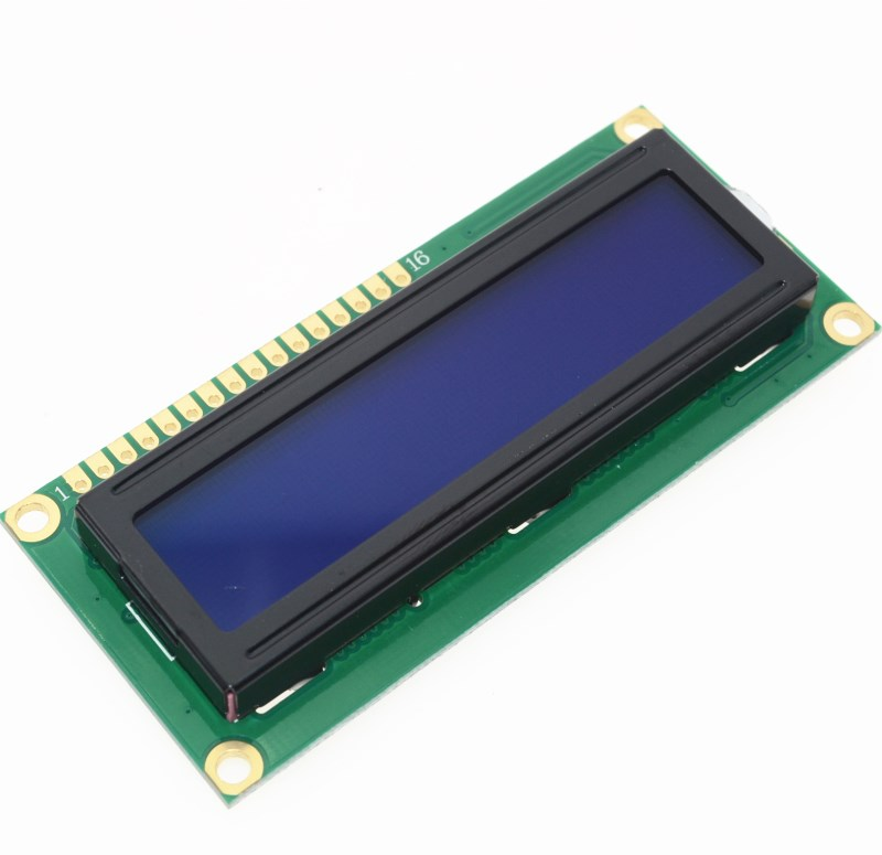Free Shipping 1PCS LCD1602 1602 Module Blue Screen 16x2 Character LCD Display Module HD44780 Controller Blue Blacklight