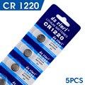 AE Botão bateria 5 Pcs 3 V Células de Lítio Coin Botão Bateria CR1220 DL1220 ECR1220 LM1220 KCR1220 EE6219