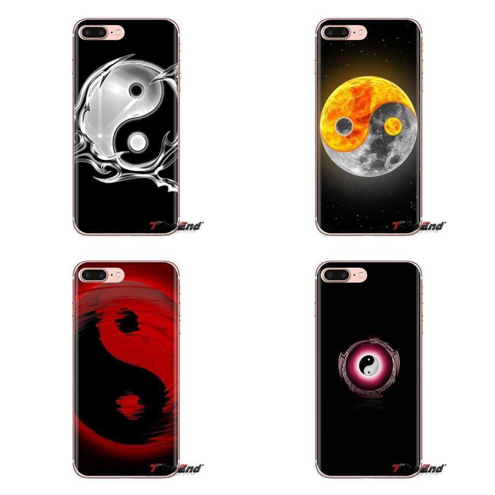 El Yin y el Yang de China suave transparente casos para LG G3 G4 Mini G5 G6 G7 Q6 Q7 Q8 Q9 V10 V20 V30 X Power 2 3 K10 K4 K8 2017