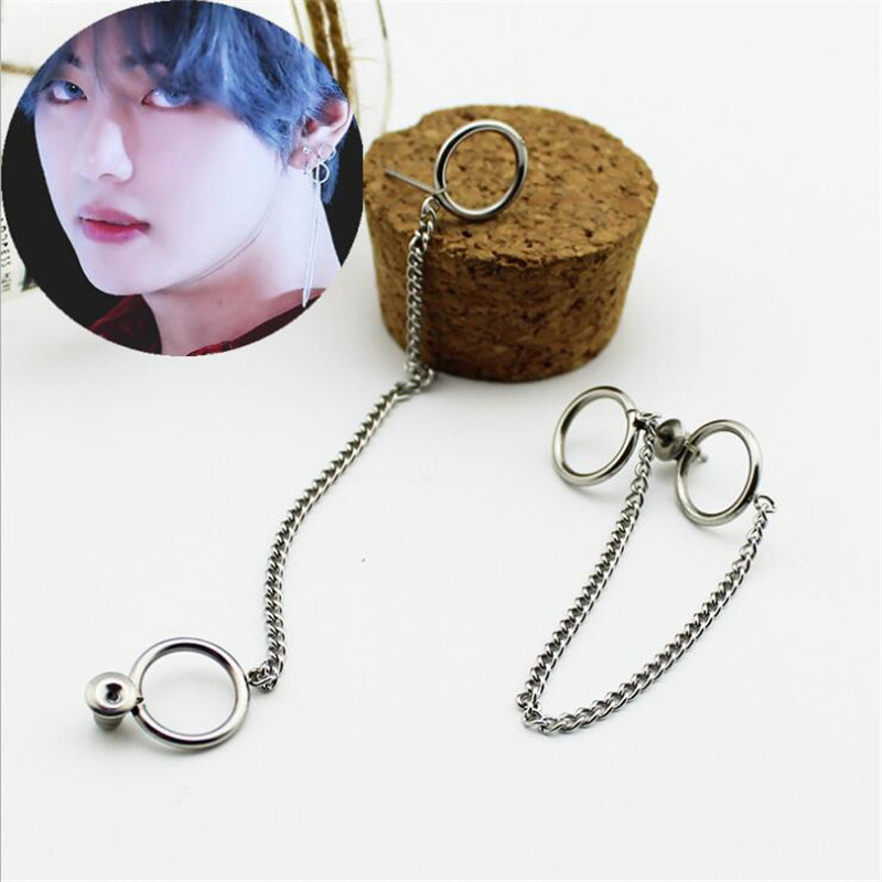 Blackpink Kpop Fashion Earrings Jewelry