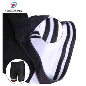 Image 5 - KUWOMAX Offre Spéciale unisexe noir vélo cyclisme sous vêtement confortable éponge Gel 3D rembourré vélo court pantalon vélo Shorts.