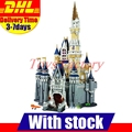 Lepin 16008 Creator Cinderella Princess Castle City 4080Pcs Model Building Set Block Kid Toys Gift Compatible 71040