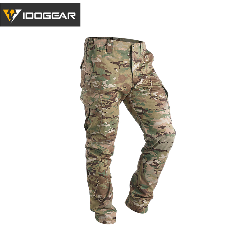 IDOGEAR GL Tactical Pants CP Field Airsoft Military Trousers Camo Flexible Man Casual Trousers Multicam 3204