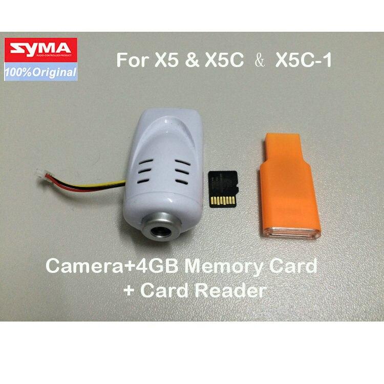 SYMA X5C RC Helicopter Quadrocopter parts Original 2.0MP/0.3MP HD camera set 100% Brand new