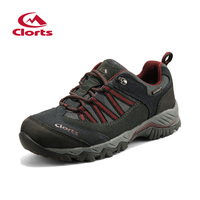 2016 Clorts Men Trekking Shoes HKL 831A B E EVA Anti Slipping Outdoor Hiking Shoes Breathable