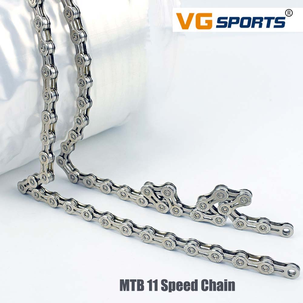 VG Sports Ultra Light 11 Speed 33 Speed MTB Half Hollow Chain Road Bike Vehicle Folding Vehicle Variable Speed Chain in Bicycle Chain from Sports Entertainment