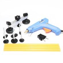 PDR инструменты для удаления вмятин безболезненные Инструменты для ремонта вмятин выпрямление вмятин Тяговая мост пистолет для клея палочки инструменты комплект