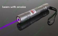 Cheaper High Power 1w 1000mW 405nm Flashlight Violet Blue Laser Pointer/ UV Purple Lazer Torch Burn Matches,Burn Counterfeit Detector,