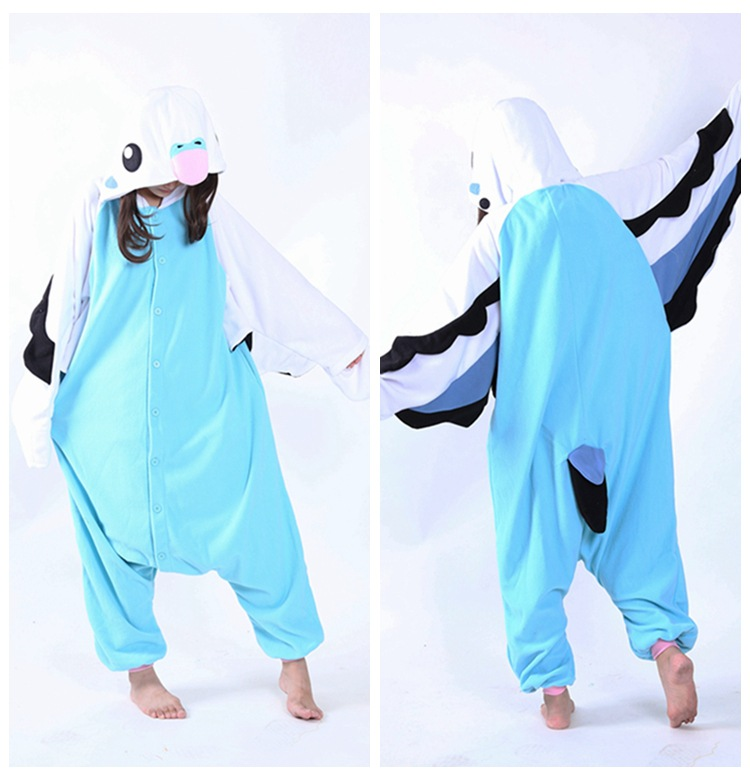 pink Lilo Stitch Kigurumi Onesies Cosplay Costumes penguin women Hooded animal cartoon pajamas blue parrot Kigurumi Jumpsuits