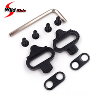 2016 Bike Pedal SPD Cleats SM SH51 Mountain Bicycle Cycling Self Locking Pedals Cleats Cycling Accessories