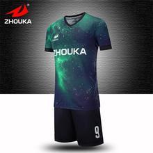 Online football uniform design full sublimation custom retro soccer jersey Football team training suit striped camisa de futebol