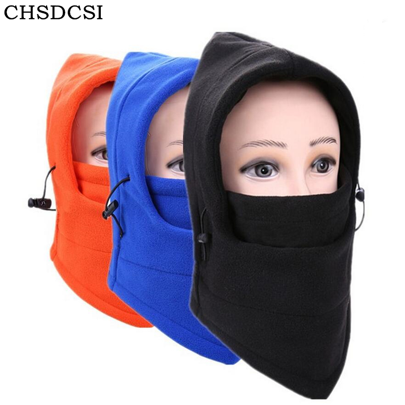 CHSDCSI Mens Winter Hats Balaclava Neck Warmer Unisex Motorcycle Beanies Cap Face Mask Beanie For Women Hat Warm Bonnet Female face skullies beanies mask motorcycle fleece winter warm beanies hats colorful neck warmer