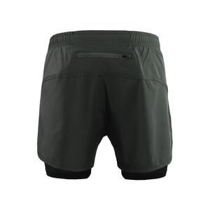 Image 2 - ARSUXEO Shorts de course pour hommes 2 en 1 Shorts de Sport à séchage rapide entraînement athlétique Fitness pantalons courts Shorts de Sport vêtements dentraînement B179