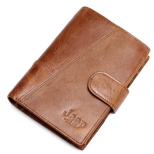 High Quality Genuine Cow Leather Wallet