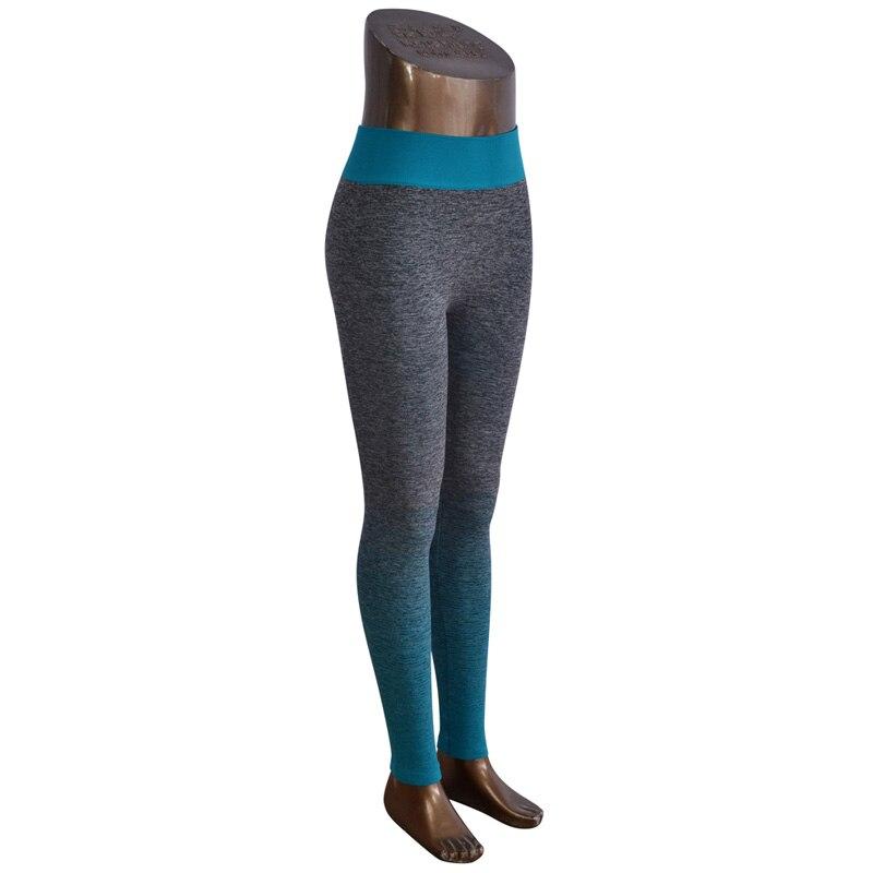 DISSIMILAR Frauen Fitness Ombre Hosen Activewear Abnehmen Nahtlose - Damenbekleidung - Foto 5