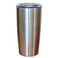 Dubbelwandige Rvs Mok Isolatie Anti Verbranden Tumbler Creative Drinkware Koffie Thee Bier Auto Cup Met Deksel 580 ml (20 oz)