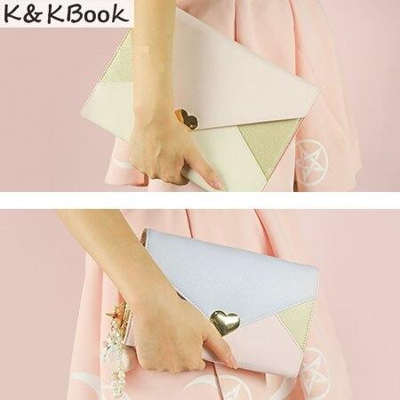 K&KBOOK K002 Luxury Leather Notebook A5 A6 Spiral Notebook Kawaii Notebook Agenda Planner A5 to do list Planner Material Escolar k