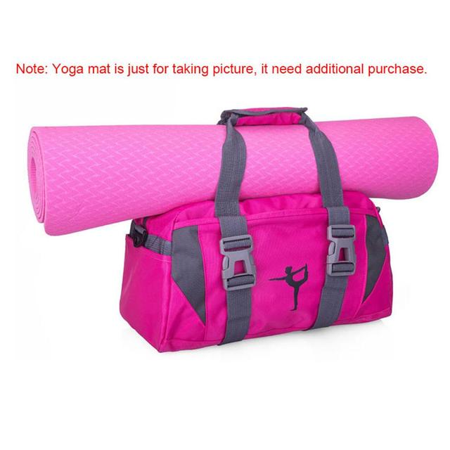 Waterproof nylon yoga bag 4