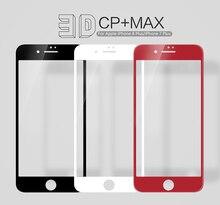 Для iphone 8 7 закаленное Стекло Экран Protector NILLKIN CP + Pro 3D полный изогнутые стеклянные защитный Плёнка для Iphone 8 7 Plus Glas Плёнка