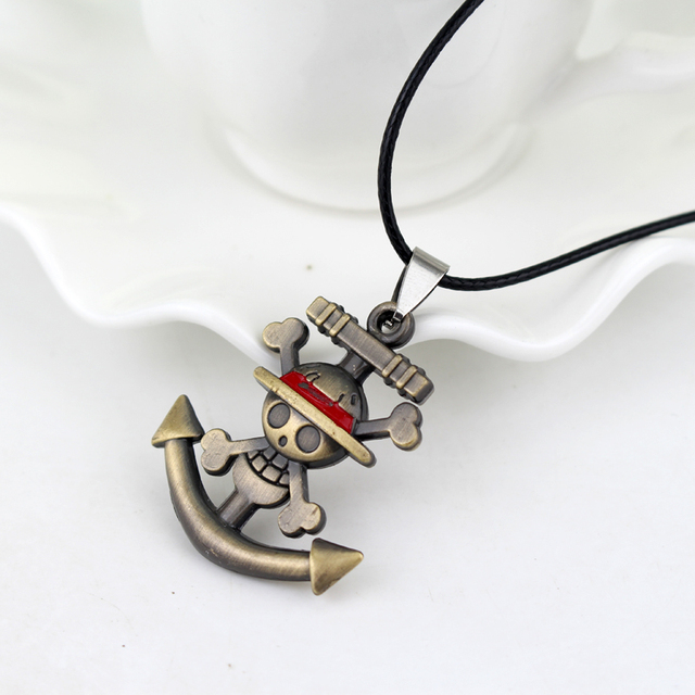 One Piece Themed Pendant Necklaces