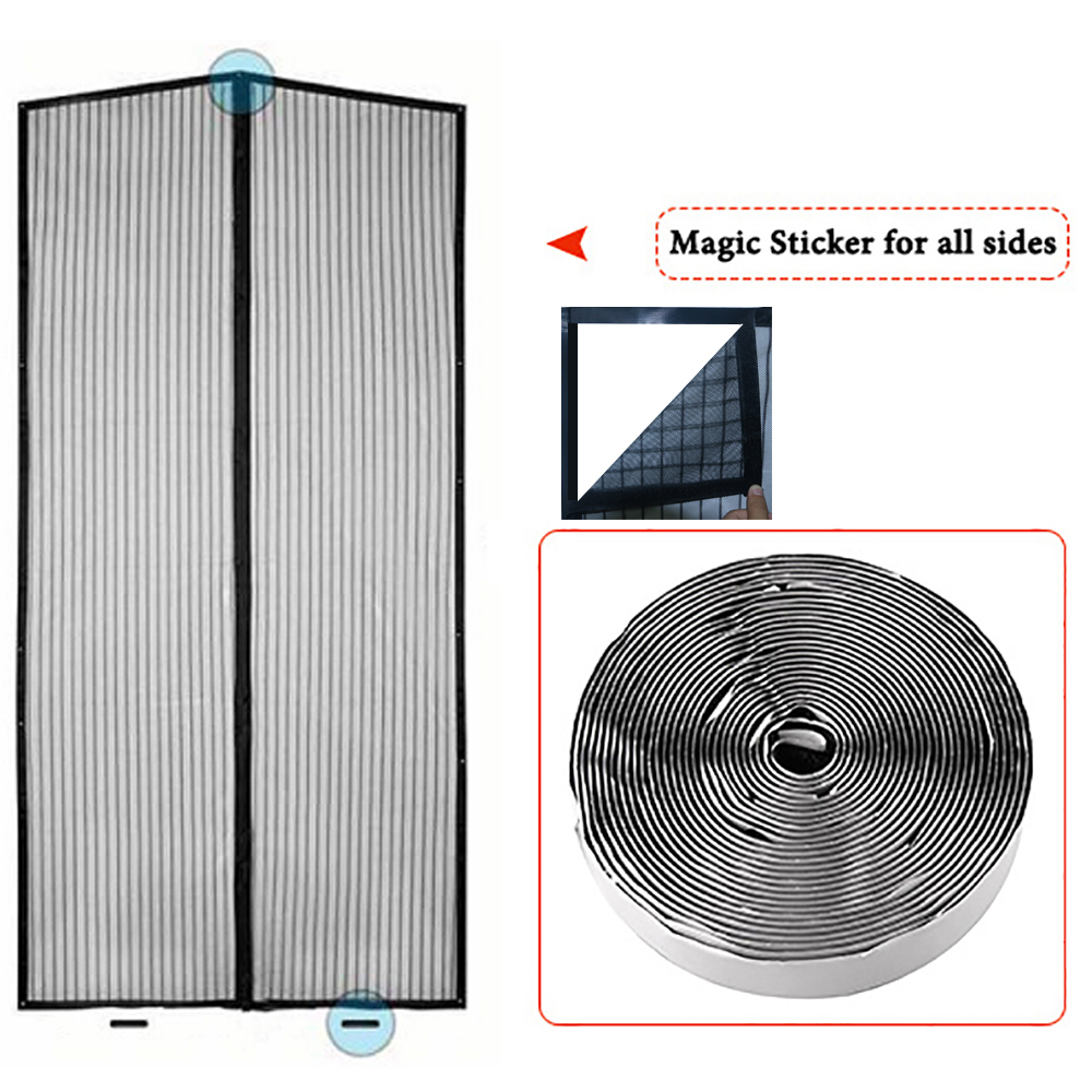 Aroland 3 Pack Mosquito Net for Windows Window Screen Insect Mesh DIY Sizes Window Net Fly Bug Mosquito Window Mesh with 3 Rolls Self-Adhesive Tapes